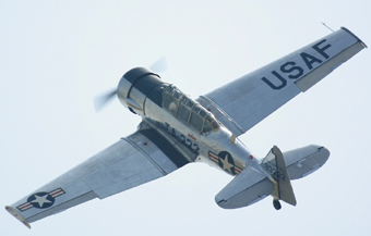 Истребитель Texan T-6. Фото с сайта richard-seaman.com