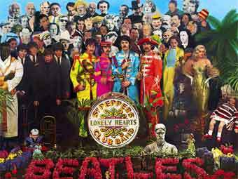 "Обложка альбома The Beatles ""Sgt. Pepper's Lonely Hearts Club Band"""