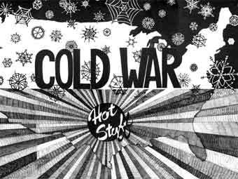 "Проект Александры Мир ""Cold War Hot Stuff"". Репродукция с сайта saatchi-gallery.co.uk"