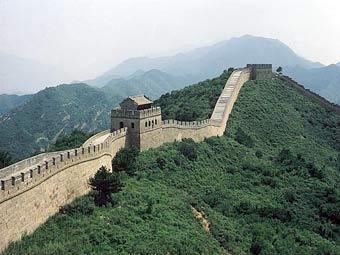 Великая Китайская стена. Фото с сайта exodus.co.uk