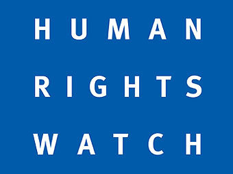 Логотип организации Human Rights Watch.