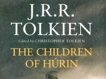 "Обложка ""The Children of Hurin"" с сайта amazon.com"