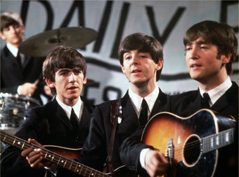 The Beatles, фото с сайта worth1000.com