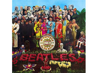 Обложка Sgt Pepper's Lonely Hearts Club Band