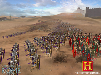 Скриншот The History Channel: Great Battles of Rome