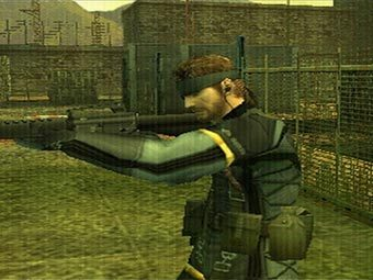 Скриншот Metal Gear Solid Portable Ops