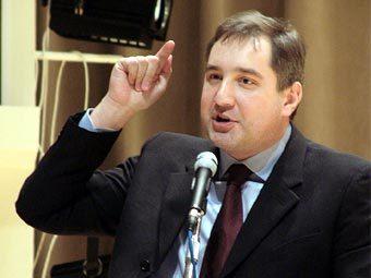 "Дмитрий Рогозин. Фото с сайта партии ""Родина"""