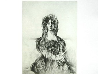 """Looking at Goya. Dona Antonia Zárate"" Луи ле Брока"