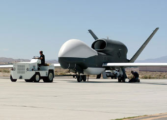 Американский дрон Global Hawk. Фото с сайта Globalsecurity.org