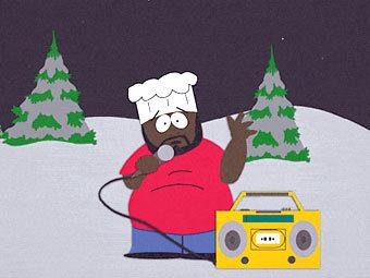 """Шеф из """"Южного парка"""". Кадр из мультфильма с официального сайта"""