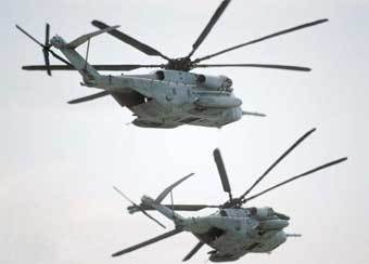 Вертолеты CH-53E. Фото с сайта Air-and-space.com