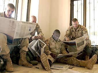 Американские солдаты без секса