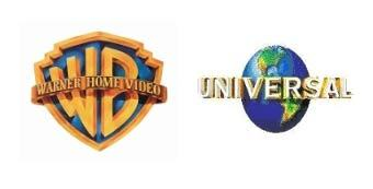 Логотипы Warner Home Video и Universal Pictures International