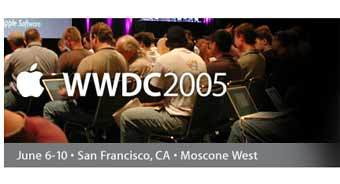 Графика с сайта выставки Apple's Worldwide Developer Conference 2005 (WWDC-2005)
