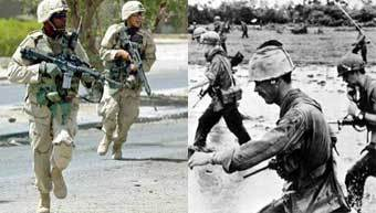 iraq vietnam comparison contrast This is in contrast to vietnam, which still has a very good chance of developing a class of people friendly to the us even though a war was fought between the two countries if that was not enough, there is another reason why iraq is unlikely to become a strong and prosperous ally of the us.