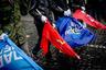 На Марше борьбы «Свободы» в Киеве 14 октября 2012 года