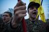 Факельное шествие, посвященное началу Колиивщины в Киеве 14 апреля 2010 года