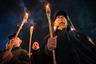 На акции памяти по случаю 60-летия гибели Романа Шухевича