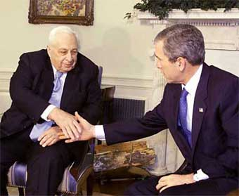 an analysis of the president yasser arafats role on the prime minister ariel sharon