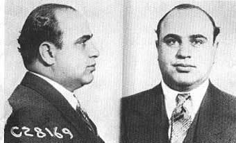 a biography of alphonse capone who murdered his way to the top of the chicago mafia