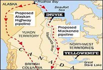 issues with the mackenzie pipeline