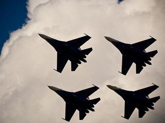 """Пилотажная группа """"Русские витязи"""". Фото с официального сайта"""