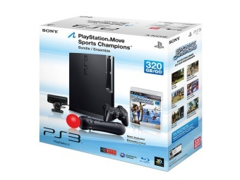 Комплект 320GB PS3 и Move. Изображение с PlayStation.Blog