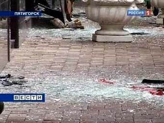 "Кадр телеканала ""Россия 1"" с места событий"