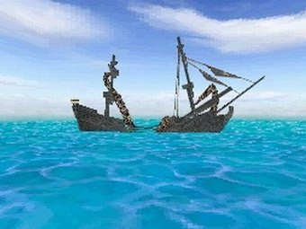 Скриншот игры Pirates of the Caribbean: At World's End для DS