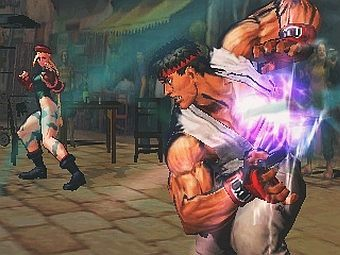 Скриншот Super Street Fighter IV 3D Edition