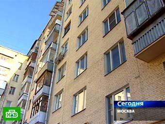 Дом, в котором проживала Людмила Чичваркина. Кадр телеканала НТВ