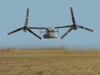 Конвертоплан V-22 Osprey. Фото с сайта civilianmilitaryintelligencegroup.com
