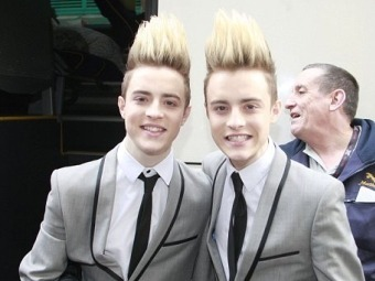 Jedward. Фото с сайта The Daily Mail