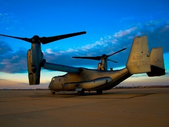 V-22 Osprey. Фото пользователя PalmsRick с сайта flightglobal.com