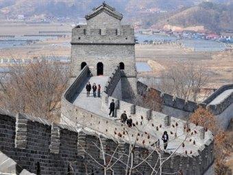 Великая китайская стена. Фото (c)AFP