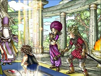 Арт к игре Dragon Quest IX: Sentinels of the Starry Skies