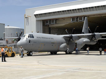 Самолет C-130J-30 Super Hercules ВВС Норвегии. Фото с сайта www.defenseindustrydaily.com