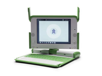 OLPC XO. Фото c сайта laptop.org