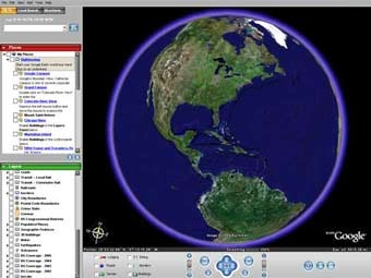 Скриншот Google Earth