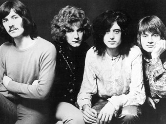Led Zeppelin в 1968 году. Фото с сайта коллектива