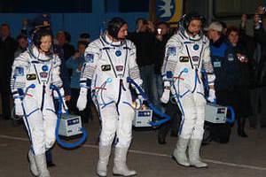Трейси Колдуэлл-Дайсон, Александр Скворцов и Михаил Корниенко. Фото Ирины Якутенко