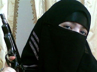 Дженет Абдурахманова. Фото, переданное (c)AFP
