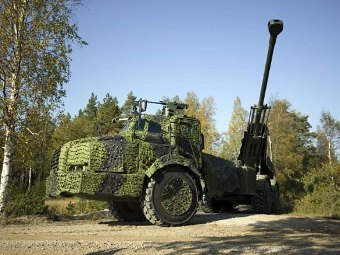 FH77 BW L52 Archer. Фото с сайта army-technology.com