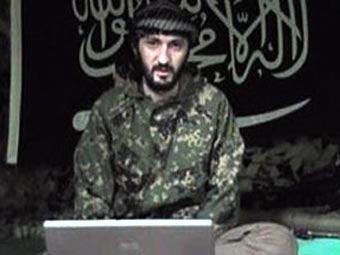 Анзор Астемиров. Кадр видеозаписи с одного из сайтов северокавказских боевиков