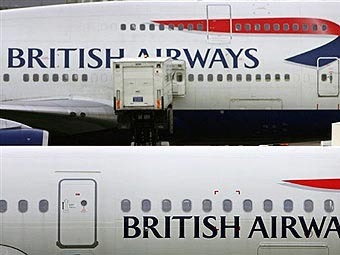 Самолеты British Airways. Фото (c)AFP