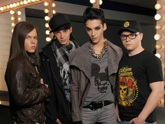 Tokio Hotel. Фото с официального сайта группы