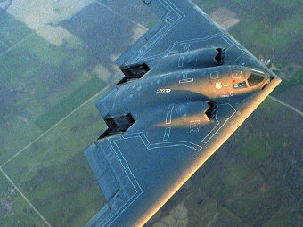 B-2 Spirit of Washington. Фото пресс-службы Northrop Grumman