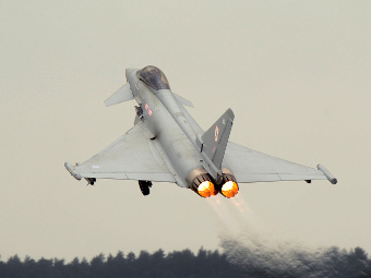 Eurofighter Typhoon ВВС Великобритании. Фото с сайта eurofighter.com