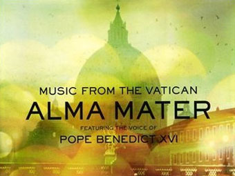"Фрагмент обложки альбома ""Alma Mater - Music From The Vatican"""