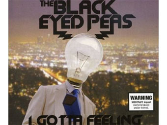 "Обложка сингла ""I Gotta Feeling"" группы Black Eyed Peas"